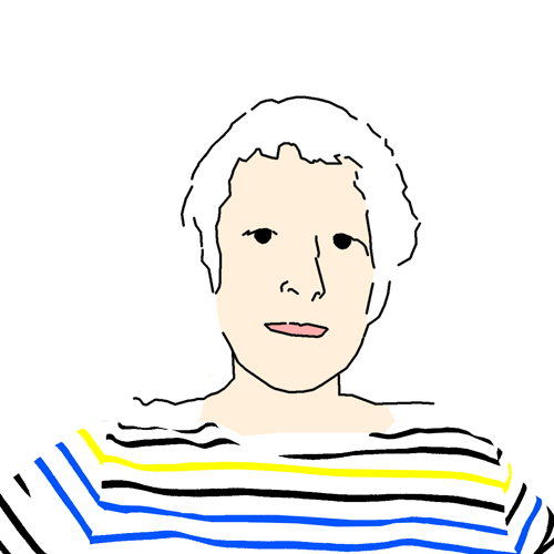 Portrait of Rosemarie Bourgault